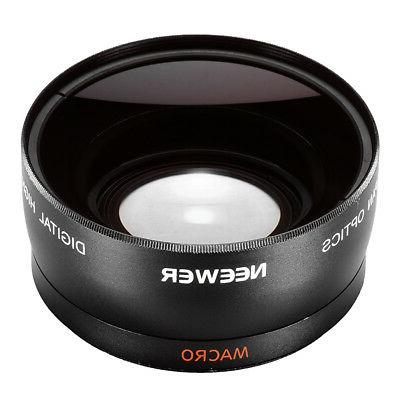 Neewer 58mm Wide Angle Lens Macro Canon EOS 60D 70D