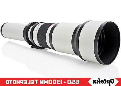 Opteka Zoom Lens for Samsung NX1 NX3000 NX2000 NX300