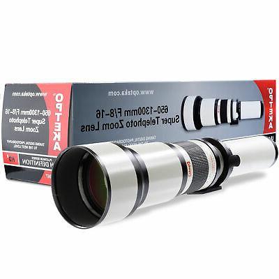 650 2600mm super zoom lens for samsung