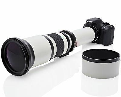 Opteka Telephoto Zoom Lens for Nikon DX FX Cameras