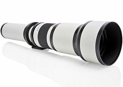650 2600mm telephoto lens for nikon d7500