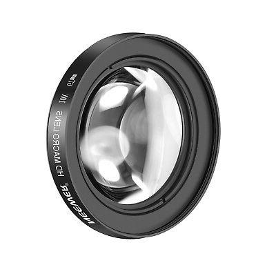 Neewer 67mm 10X Close-Up Macro Lens for Canon REBEL T6i T6 T