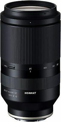 Tamron 70-180mm F/2.8 Di III VXD for Sony Full Frame/APS-C E