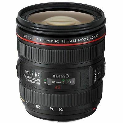 Canon EF 24-70mm f/4.0L IS USM Standard Zoom Lens