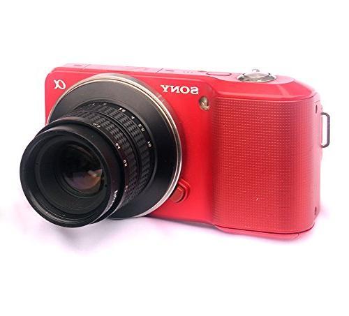 Fotasy F1.7 CCTV Movie Lens for Sony E-Mount NEX Cameras