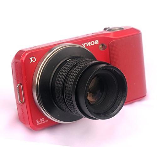 Fotasy CCTV Lens Sony E-Mount Cameras
