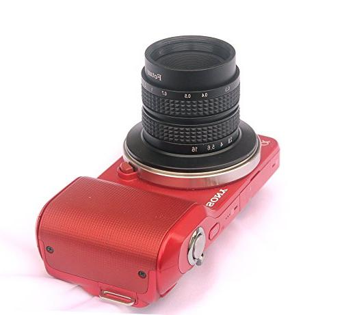 Fotasy N35 35MM CCTV Lens Sony E-Mount Cameras