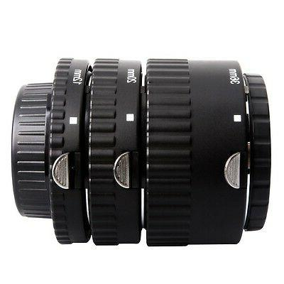 Mcoplus Extnp Auto Focus Macro Extension Tube Set for Nikon