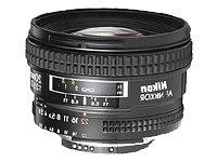 Nikon AF FX NIKKOR 20mm f/2.8D Fixed Zoom Lens with Auto Foc