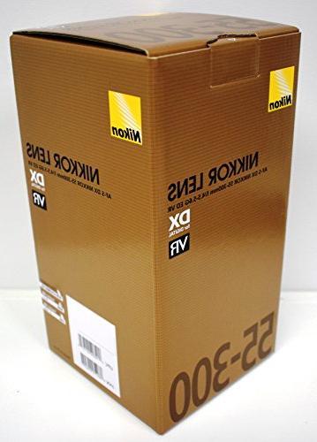 Nikon 55-300mm ED Auto Focus DSLR Cameras