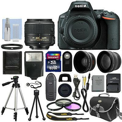 Nikon D5500 DX-format Digital SLR w/18-55mm VR II Kit