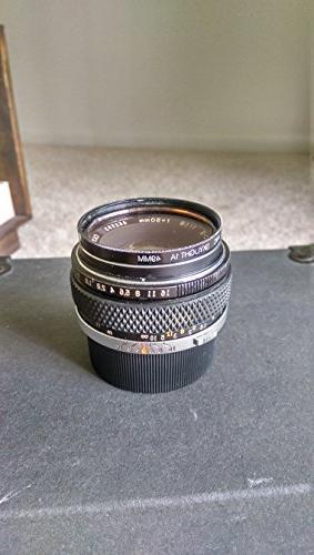 OLYMPUS OM-SYSTEM ZUIKO MC AUTO-S 50mm F1.8 MF Zoom Lens(S