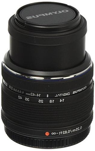 Olympus 14-42mm f/3.5-5.6 Ver. II R, Interchangeable Lens fo