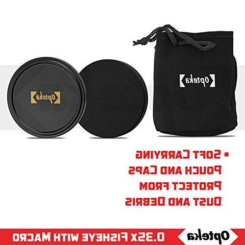 Opteka Fisheye EOS 70D, 60D, 60Da, 50D, 1Ds, 7D, 6D, 5D, 5DS, Rebel T6s, T6i, T5i, T5, T2i and SL1 SLR