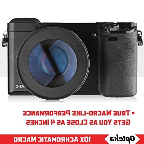 Opteka Macro Lens Nikon D5, D4, D750, D610, D7100, D5300, D5200, D3300, D3200 SLR
