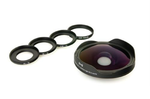 Opteka OPT-SC37FE 0.3X Lens 25mm, 30mm, 30.5mm & 37mm Video Camcorders