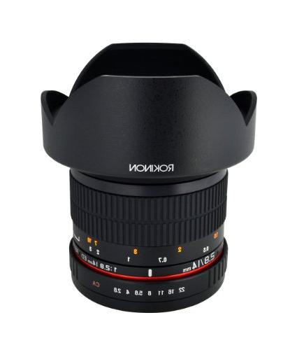 Rokinon IF ED Angle Fixed Lens Built-in AE for Nikon