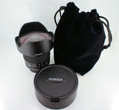 Rokinon 14mm f/2.8 ED UMC Wide Built-in AE Chip Nikon