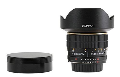 Rokinon Ultra Wide Lens Canon