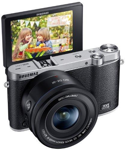 Samsung NX3000 Wireless Smart 20.3MP Mirrorless Digital Came