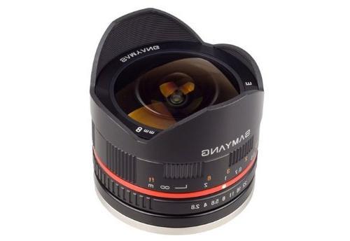 Samyang 8mm F2.8 UMC Fisheye II  Lens for Sony E-Mount  Came