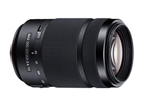 Sony 55-300mm SAM Telephoto Zoom Lens