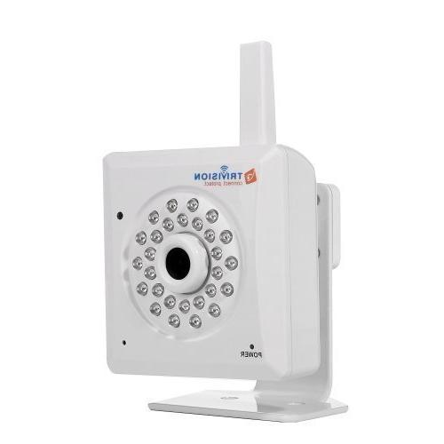 TriVision Internet Security Camera Wireless Wi-Fi, HD 1080P,