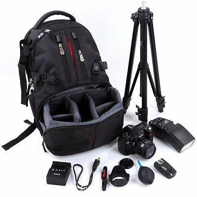 Waterproof Backpack Case DSLR Canon Sony