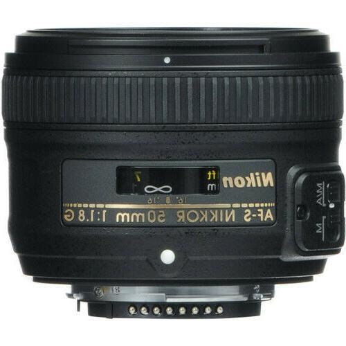 Nikon AF-S 50mm NIKKOR Lens DSLR
