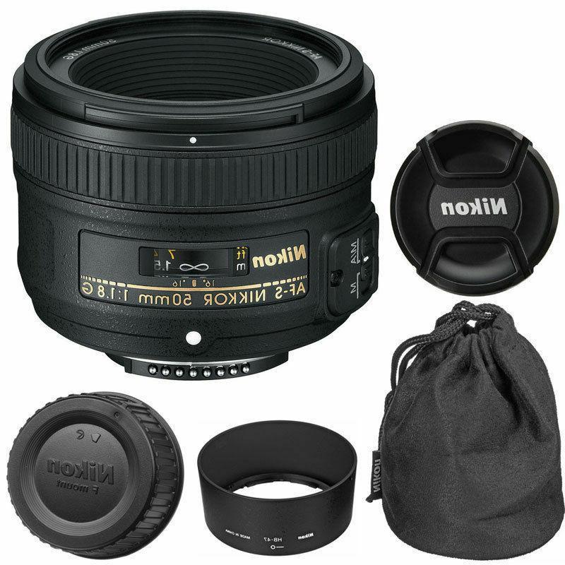 Nikon 50mm f1.8G AF-S NIKKOR Lens for Nikon DSLR Cameras