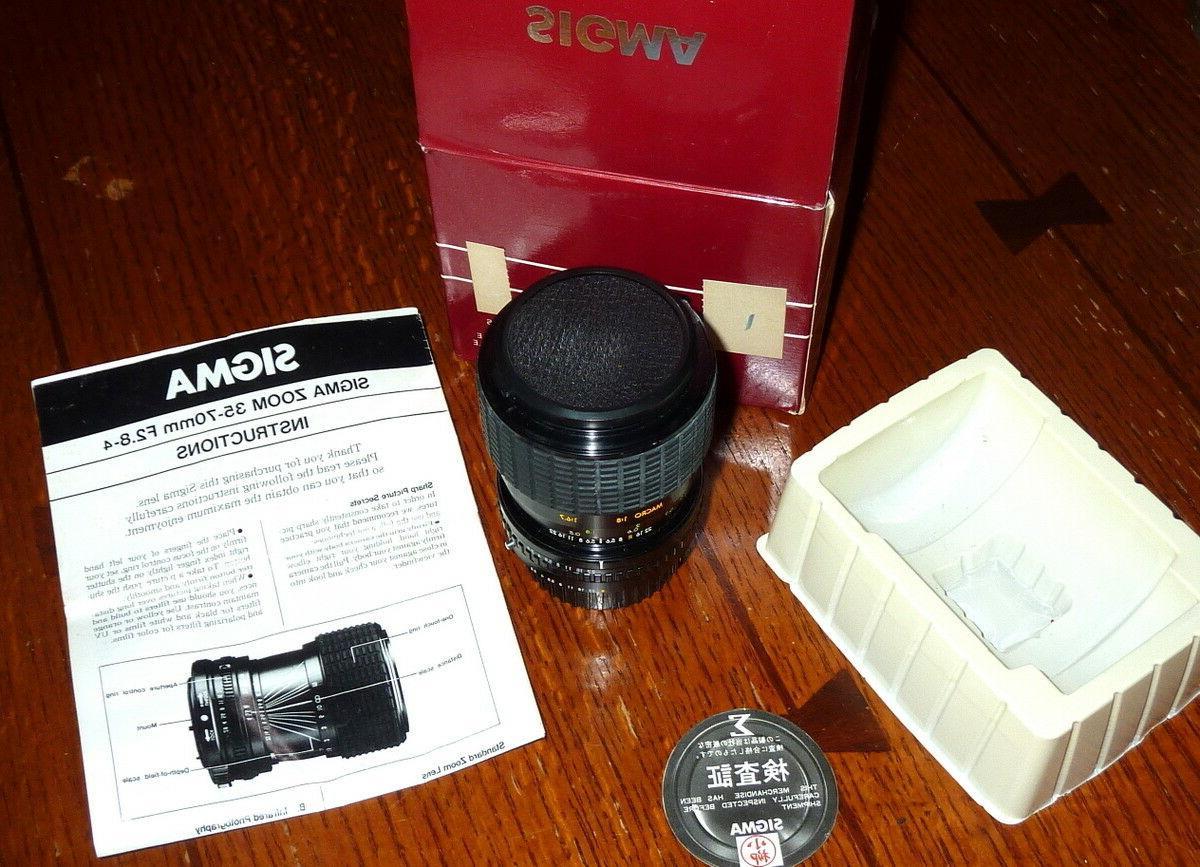 Camera Fujica Sigma Zoom
