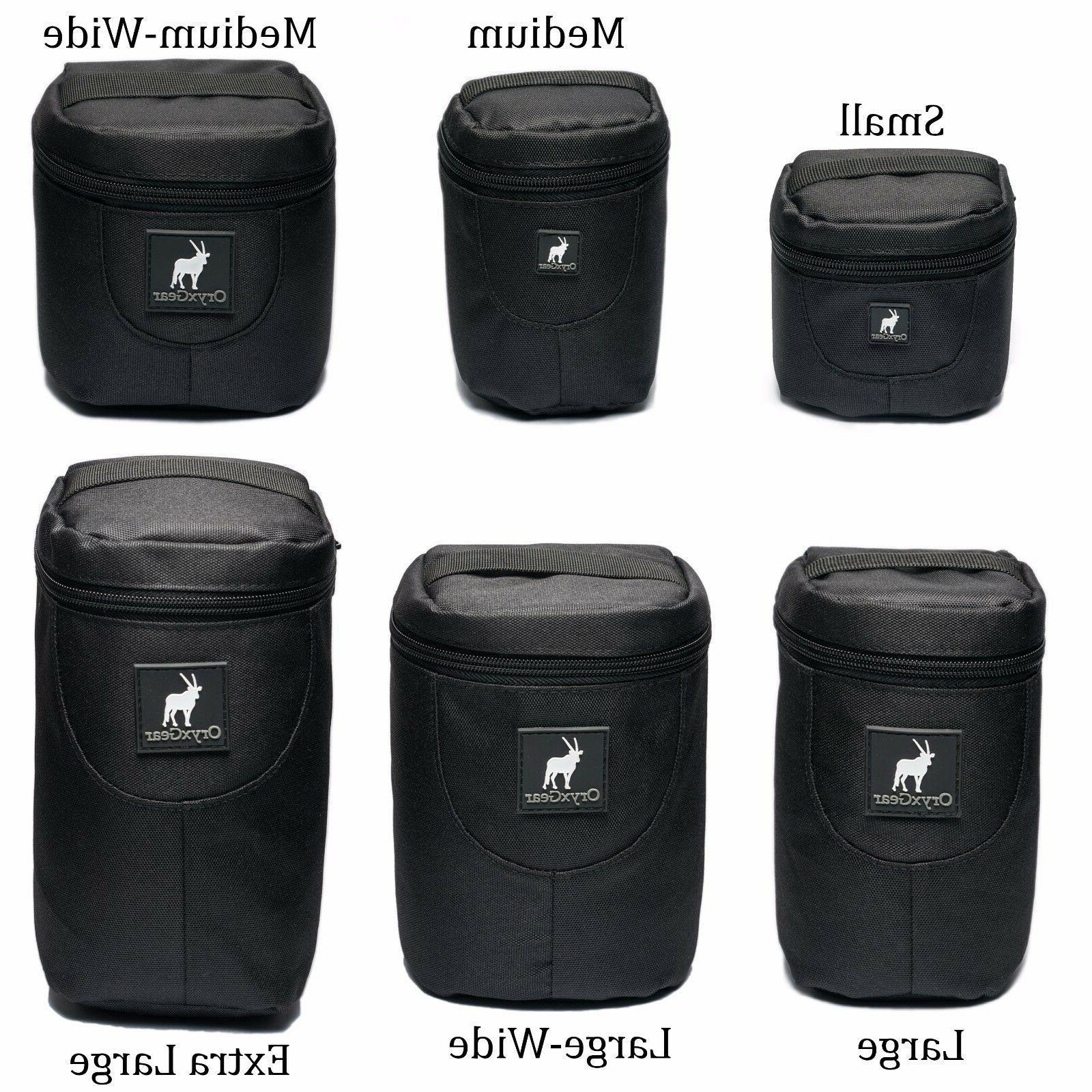 camera lens pouch bag case