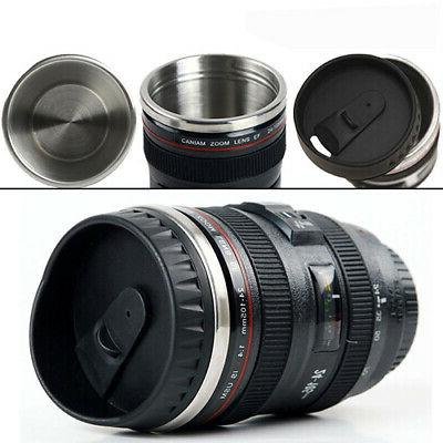 Camera Lens thermos Coffee