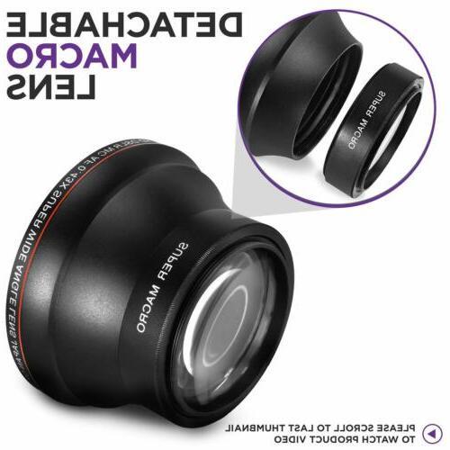 Camera Photo Angle Lens w/ for Nikon Sony Camera Lenses 55MM