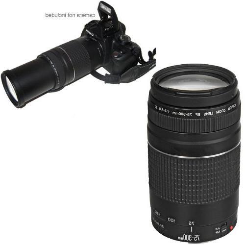 Canon EF III Telephoto Zoom for 70D, EOS SL1, T1i, T2i, T4i, T5, T6i, XSi, SLR Accessory Kit