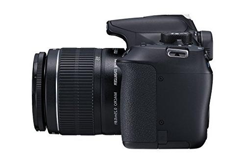 Canon T6 Digital SLR with EF-S 18-55mm IS WiFi NFC Black