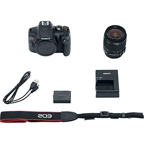 Canon Digital with EF-S IS II WiFi Black