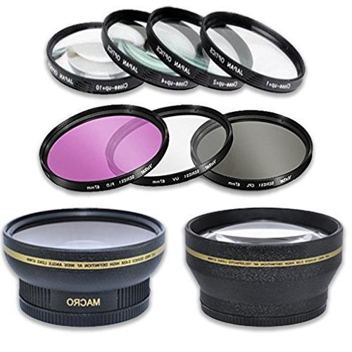 Canon Rebel DSLR Bundle IS Lens + Canon 75-300mm III Lens + + Accessory