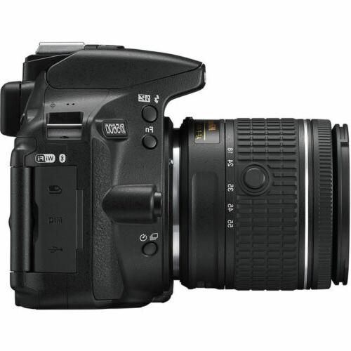 Camera with Nikkor 18-55 ED Lenses