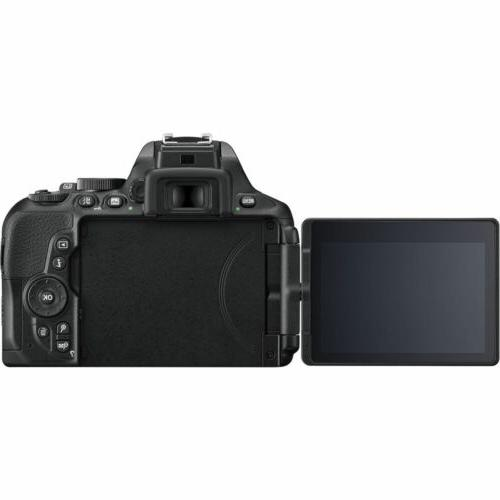 Nikon D5600 Digital Camera with AF-P Nikkor and ED