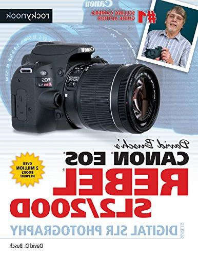 david buschs canon eos rebel sl2 200d guide digital slr phot