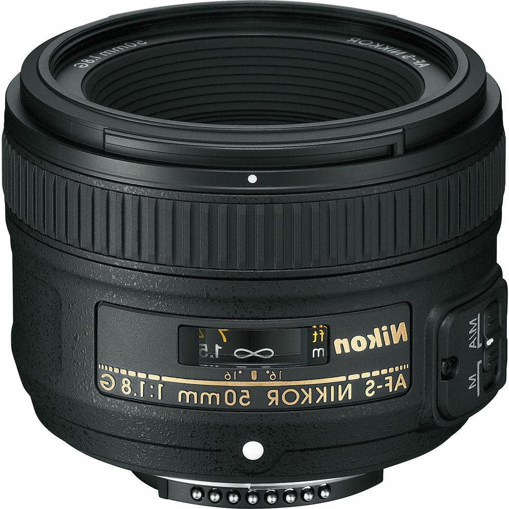 50mm 1.8 50 mm As G Sic M/a + Free Lens Cap