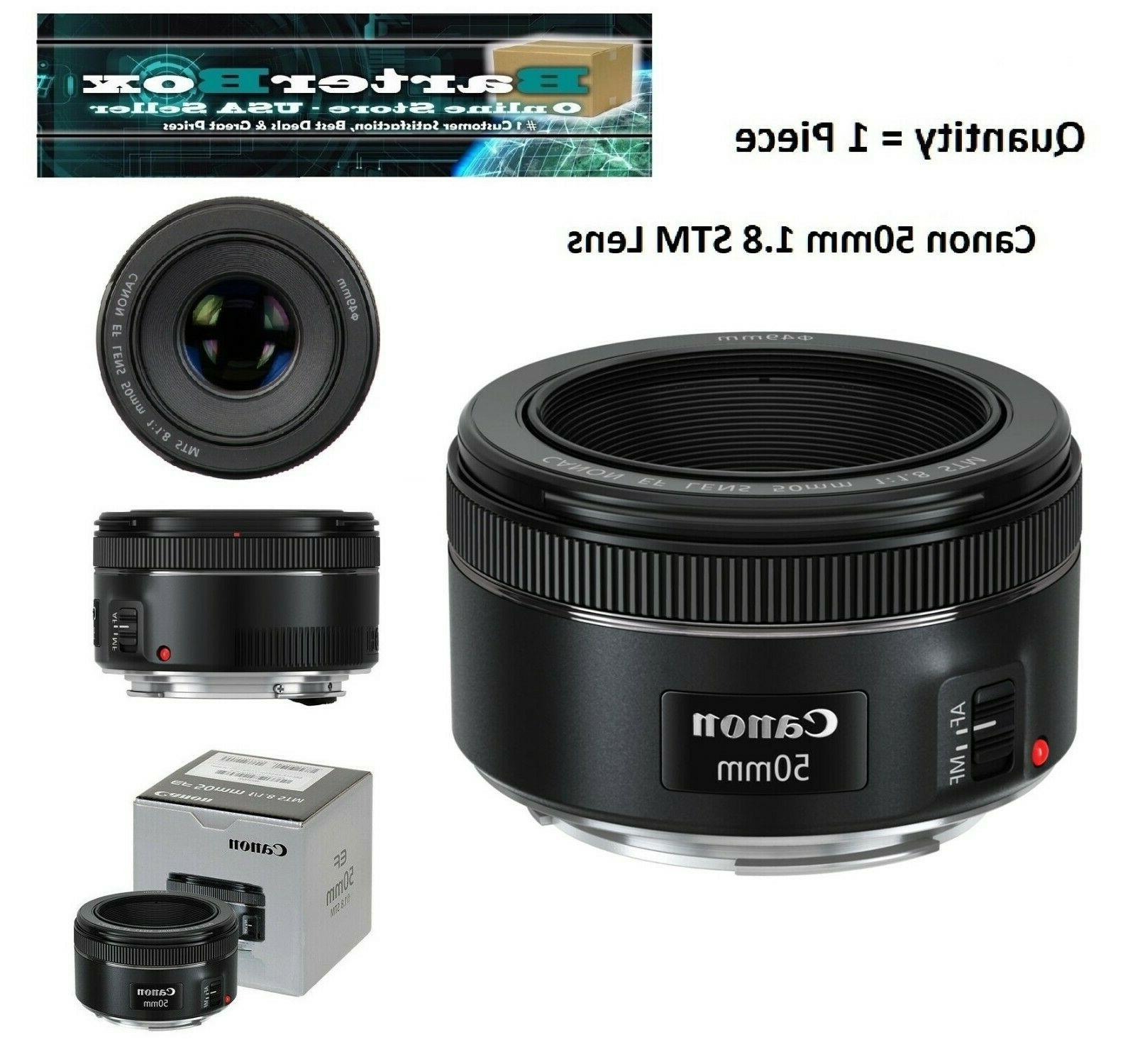 Easter Canon 50mm Stm Lens 0570C002 Deal Box