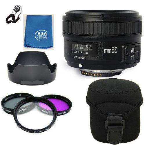 Yongnuo EF 35mm F2 N Wide Angle Fixed Prime Auto Focus Lens