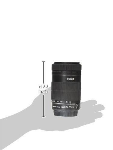 Canon EF-S 55-250mm IS Canon SLR
