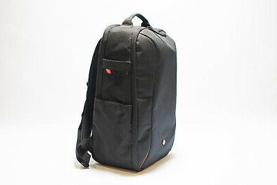"""Manfrotto Camera Backpack Black MB 13"""" Laptop Lens Dvdrs NEW"""