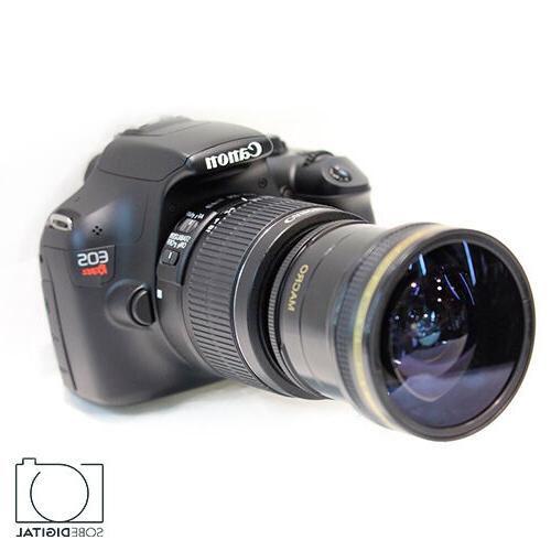 extreme sports fisheye lens for canon eos