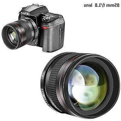 Neewer f/1.8 Manual Focus for Nikon D4S DF