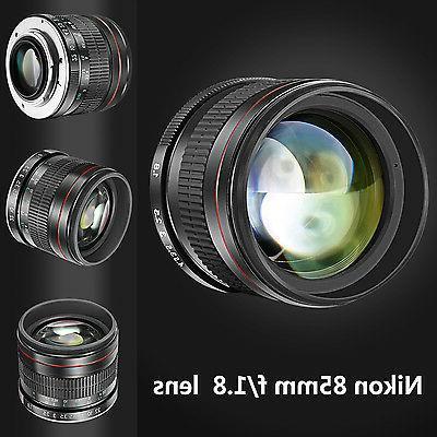 Neewer 85mm Portrait Manual Focus Telephoto for Nikon D5 DF D4