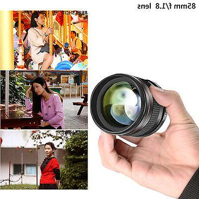 Neewer 85mm Manual Focus Telephoto for D5 DF